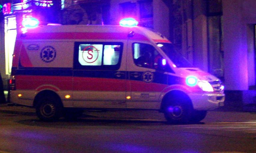 Wypadek Rumuna na drodze do granicy