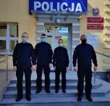 Czworo nowych policjantów w Bytowie. Wkrótce będzie ich można spotkać na terenie powiatu