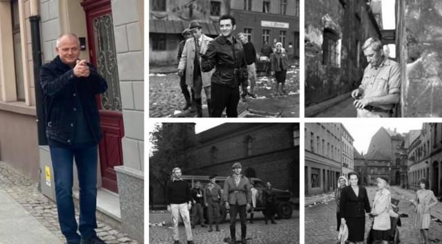 """Ważną rolę w filmie """"Prawo i pięść"""" odegrał Toruń. To tutaj nakręcono sporo scen. Sławomir Szeliga odwiedził te miejsca. Na zdjęciach pokazał, jak wyglądały na filmie, a jak prezentują się dzisiaj. Zobaczcie >>>>"""