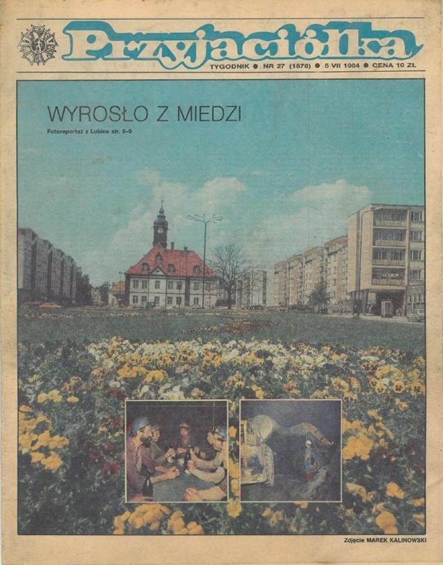 Tak wyglądały kiedyś gazety. Przyjaciółka z 1984 roku! Strona 1