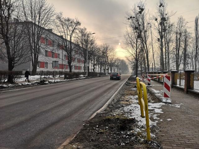 Remont ul. Nałkowskiej w Radzionkowie