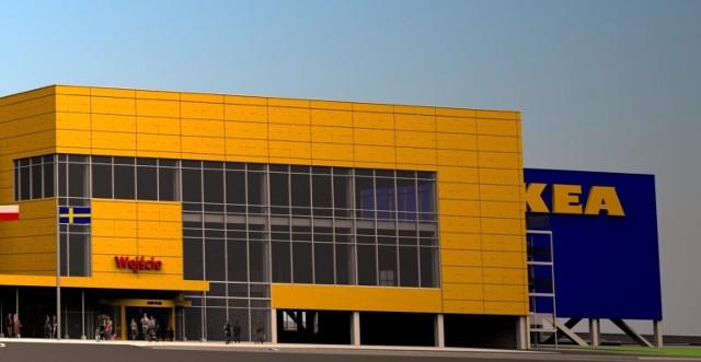 Nowa IKEA zostanie otwarta na wiosnę 2013. Koszt jej budowy to ...