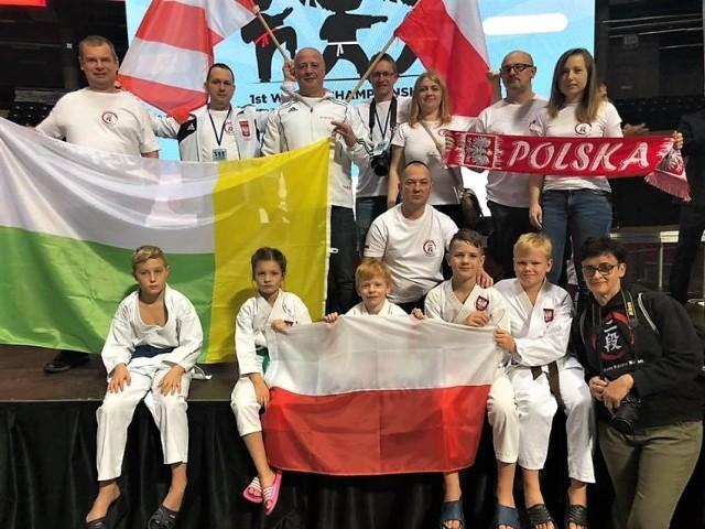 Sukcesy reprezentantów Klubu Karate Nidan Zielona Góra na mistrzostwach świata w Wilnie.