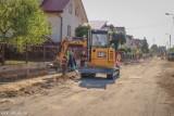 Trwają przebudowy ulic Sobieskiego i Chodkiewicza w Sieradzu