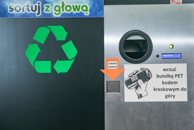 Bielany, Warszawa. Dzielnica będzie miała własny butelkomat na zużyty plastik