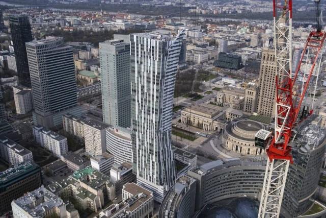 Warszawa bije rekord. 7 milionów mkw. biur w stolicy