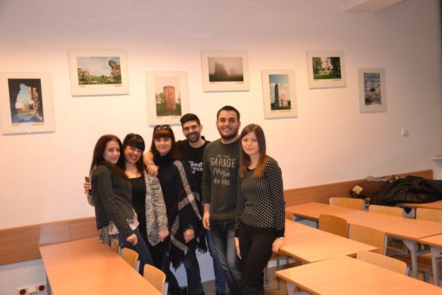 Studenci z Grecji w Instytucie Filologii Słowiańskiej UMCS