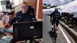 Nowodworski policjant zdobył kolarskie piekło w Alpach Wschodnich. Najtrudniejszy podjazd w Europie!