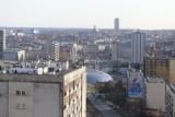 Katowice: Widok z wieżowca Górnik na Koszutce. Oto panorama Katowic z 17. piętra! Zobaczcie ZDJĘCIA