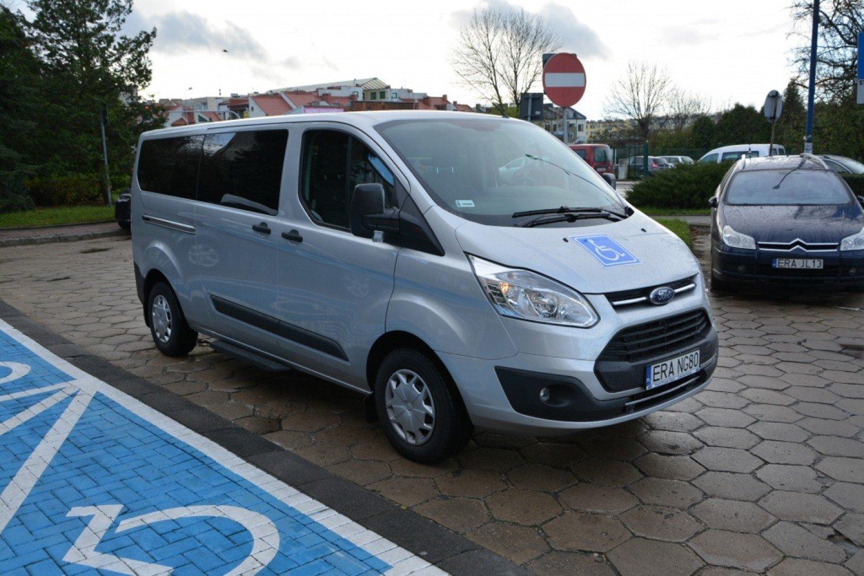 Masywnie Radomsko: Nowe auto do przewozu osób niepełnosprawnych BQ08