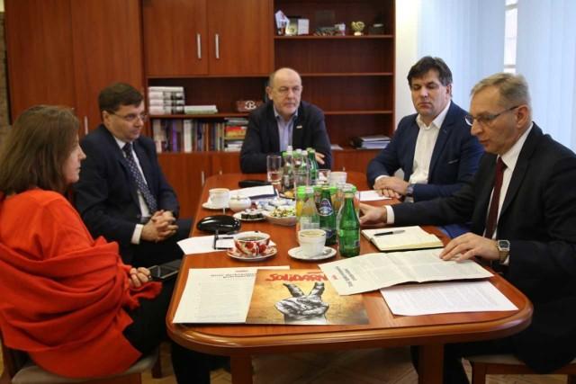 Bernard Niemiec spotkał się z parlamentarzystami Prawa i Sprawiedliwości