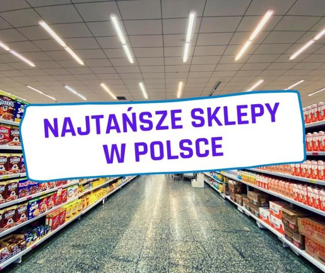 Eksperci ASM Sales Force Agency przeanalizowali ceny tego samego koszyka produktów w wybranych sklepach w Polsce. W najtańszym sklepie za wszystkie zakupy trzeba było zapłacić 216,20 zł, w najdroższym te same towary kosztowały 252,10 zł. Który sklep okazał się najtańszy? Zobacz zestawienie.  Aby przejść do listy, wystarczy przesunąć zdjęcie gestem lub nacisnąć strzałkę w prawo.