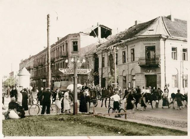 Tak wyglądała Zduńska Wola podczas II wojny światowej