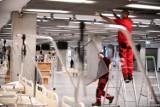 Tauron i Węglokoks będą budować kolejne covidowe szpitale tymczasowe.