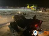 Wypadek na stokach Zieleńca. 7-latka złamała kość udową