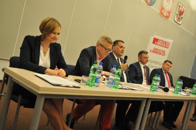 O fotel prezydenta w Gorzowie walczy pięcioro kandydatów. 8 października cała piątka wzięła udział w debacie zorganizowanej przez GL