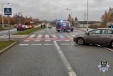 Wałbrzych: Poważny wypadek! Ciężko ranny rowerzysta trafił do szpitala!