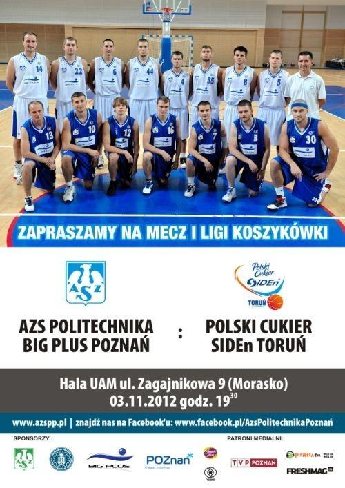Koszykarze AZS Politechniki Big Plus Poznań