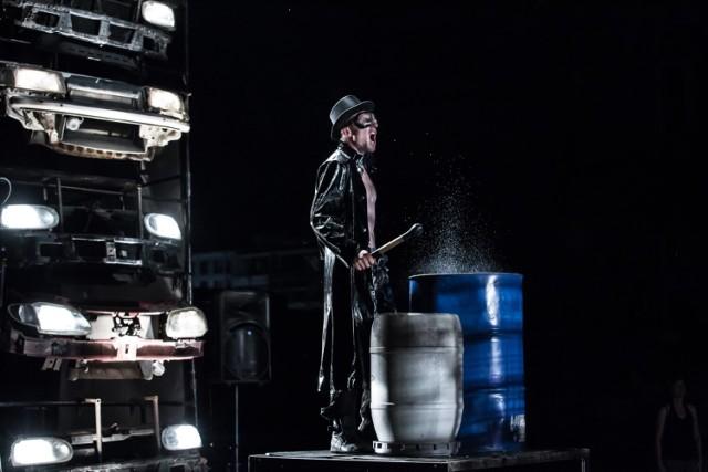 "Spektakl ""Blackuot"" , Teatr Fuzja"