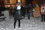 Protest Kobiet w Nowym Tomyślu. Mieszkańcy ponownie wyszli na ulice miasta. Atmosfera była gorąca