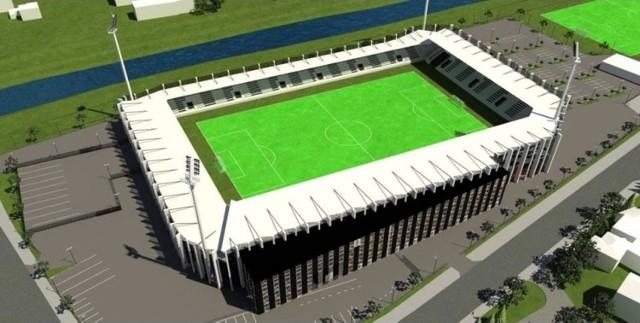 Wizualizacja stadionu przy ul. Kilińskiego