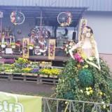 W Żórawinie piękna Dama zaprasza do kwiaciarni