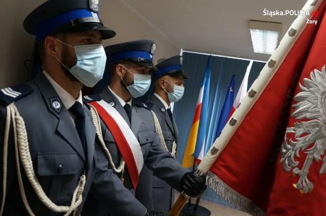 Tegoroczne Święto Policji w Żorach było skromniejsze niż zwykle.
