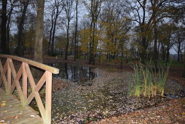 Park w Zielonej Górze Kiełpinie ma dużą wartość historyczną i kulturową jako dzieło uznanego artysty.