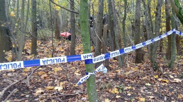 W pobliżu przystanku PKM Brętowo znaleziono dziesięć worków ze szczątkami ludzkimi
