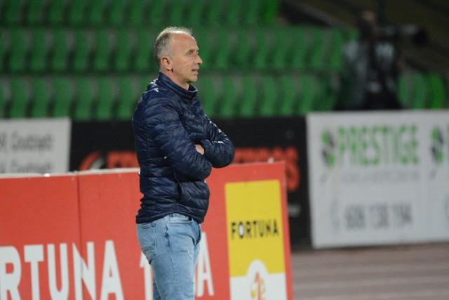 Jacek Trzeciak został trenerem Olimpii Grudziądz na początku września 2019 roku
