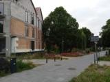 W Zielonogórskim parku powstaje blok mieszkalny. Zobaczcie, jak wygląda budynek