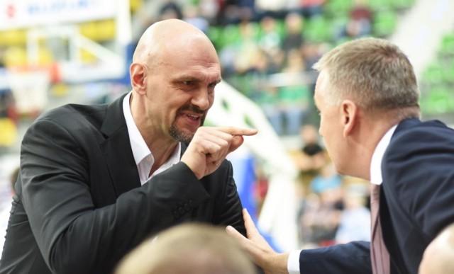 Žan Tabak, trener koszykarzy Zastalu Zielona Góra w sezonach 2019/20 i 2020/21.