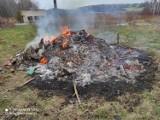 Pożar w Sławie Wielkopolskiej pod Skokami. Na miejsce wysłano strażaków