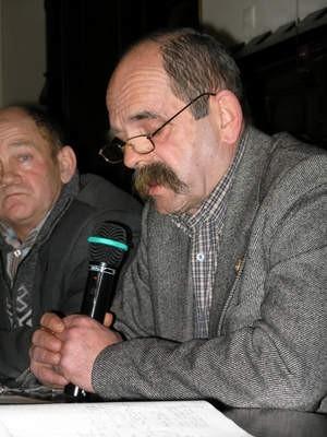 Prezes Chojniczanki, Wojciech Schreiber, głośno polemizował z pomysłem burmistrza Arseniusza Finstera.