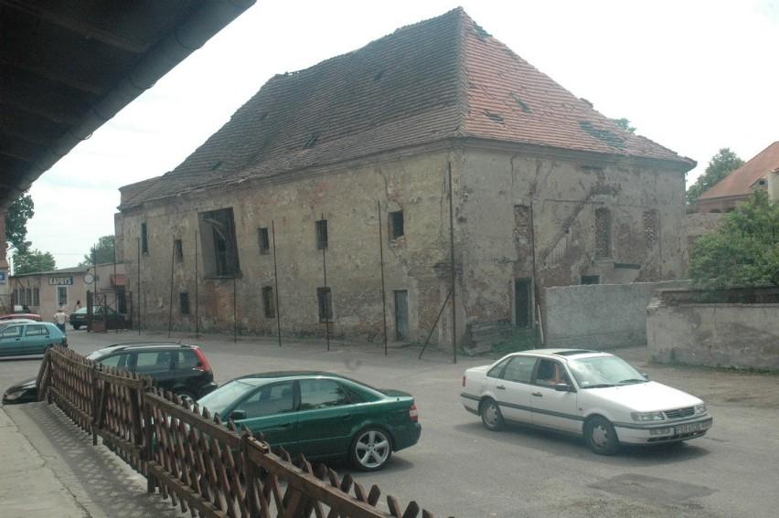 Zamek Piastowski kilkanaście lat temu przed dużym remontem....