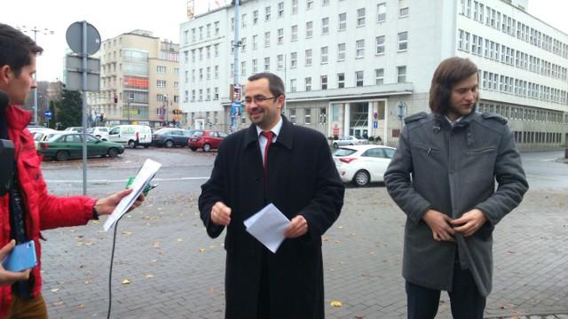 Briefing gdyńskiego PiS