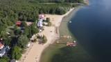 """Wspaniałe Jezioro Niedzięgiel z lotu ptaka. Tak wygląda """"Wielkopolska Ibiza"""" z góry! [FOTO]"""
