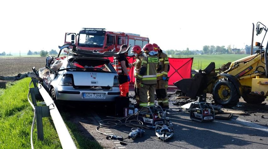 Śmiertelny wypadek na drodze wojewódzkiej 240 Chojnice -...