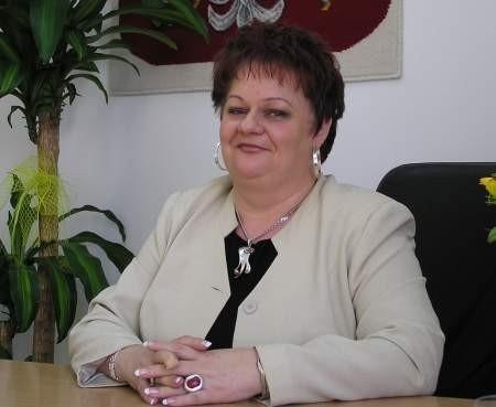 - Mam nadzieję, że w przyszłym roku stażami obejmiemy jeszcze więcej absolwentów - mówi Ewa Hryciów.  FOT. LESZEK GRABOWY