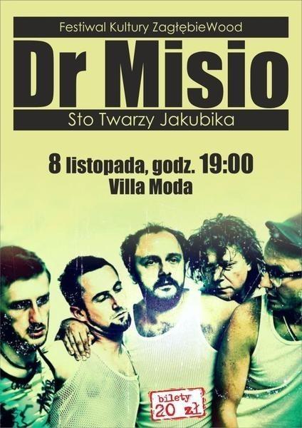 Villa Moda: koncert zespołu dr Misio odbędzie się w ramach ZagłębiaWood