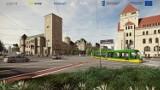 Kolejny etap metamorfozy ulicy Święty Marcin w Poznaniu - nowy przystanek i przejście dla pieszych, prawoskręt z Towarowej
