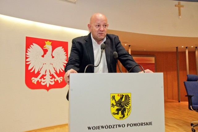 Leszek Sarnowski w okresie kiedy piastował mandat radnego Sejmiku