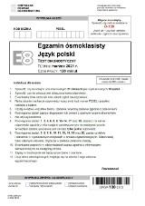 Próbny egzamin ósmoklasisty z polskiego 17.03.2021. Oto arkusz CKE i ODPOWIEDZI! Czy tematy wypracowania były trudne?