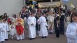 Procesja Bożego Ciała w parafii św. Floriana w Pleszewie