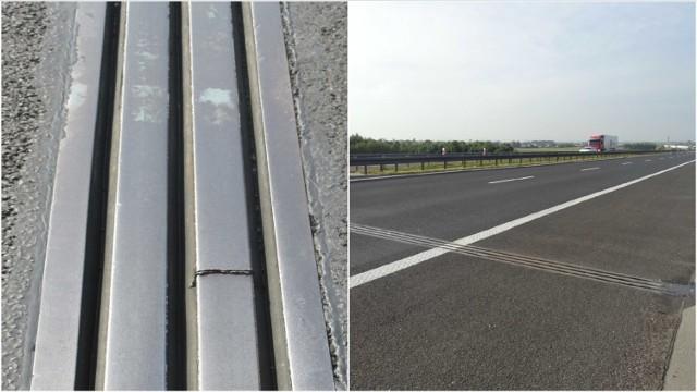 Na autostradzie A4 koło Tarnowa od poniedziałku będą utrudnienia. Drogowcy muszą naprawić dylatację mostu na Dunajcu