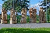Pięć rzeźb ozdobi Bażantarnię i czerwony szlak Kopernikowski