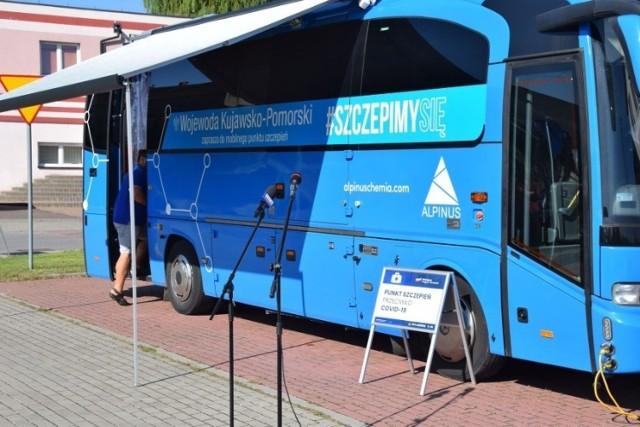 Szczepionkobus pojawi się w Grudziądzu i w poszczególnych gminach powiatu grudziądzkiego