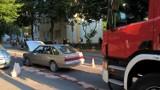 Na ulicy Zagórskiej w Kielcach BMW zderzyło się z polonezem