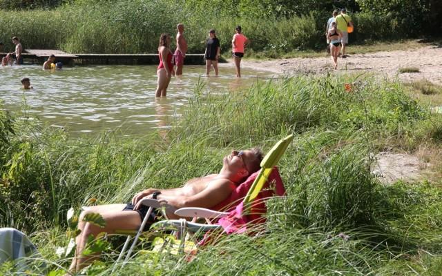 Jezioro Rybno jest uznawane za najbardziej atrakcyjny dla turystyki akwen w gminie Warlubie.
