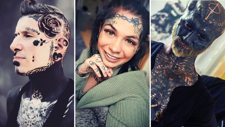 Tatuaże Na Twarzy Piękne Czy Szokujące Zobacz Zdjęcia